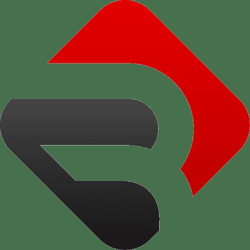 Red-Soft Mobile Logo